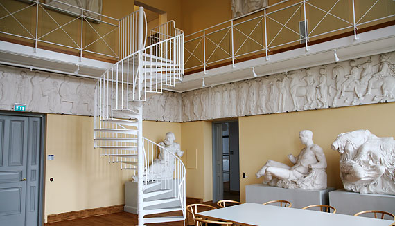 Spiral staircases for indoors application