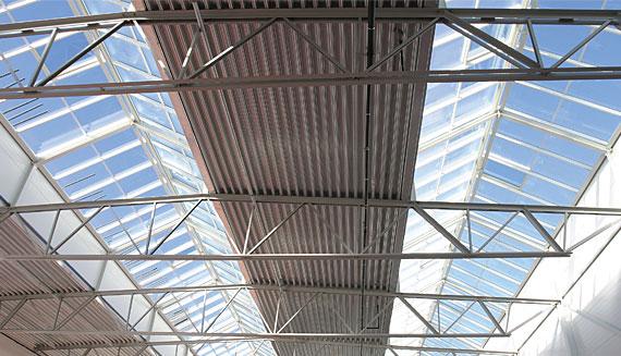 Trussed steel girders