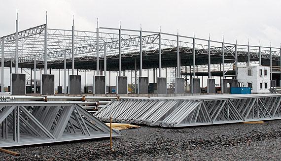 Trussed steel girders / Steel framing