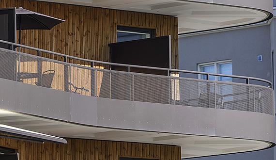 Balconies railings
