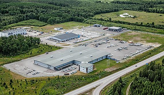 Weland Aluminium AB in Alvesta