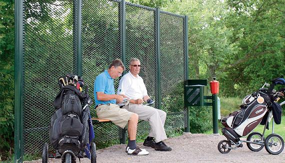 Golf seat