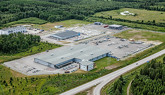 Weland Aluminium AB i Alvesta - avd. Golf