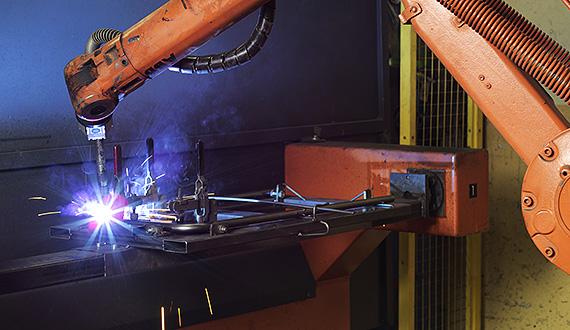 Robot-welding