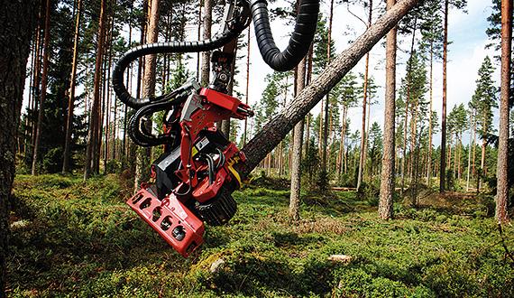 Harvester-Aggregat SP 461 LF