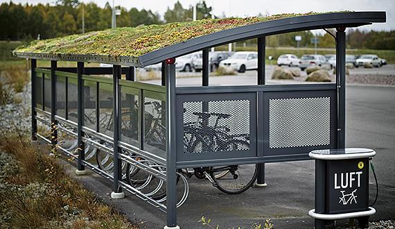 Cykelparkeringer
