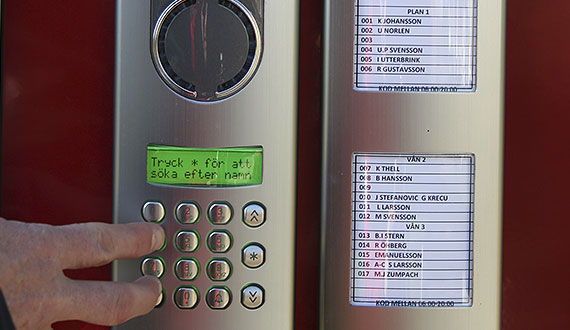 Door entry phones
