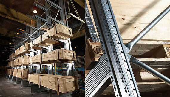 Cantilever & Pallet stand