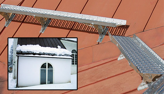 Roof safety products