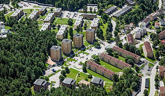 Liljebergsgatan och Engelbrektsgatan
