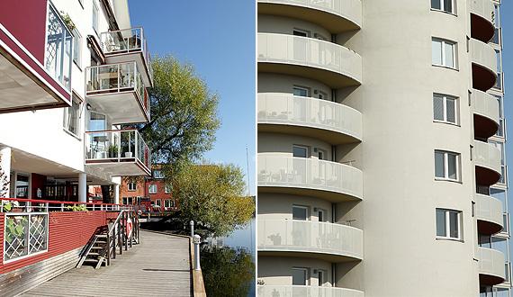 Räcken och balkonger