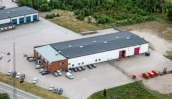 SP Maskiner AB in Ljungby