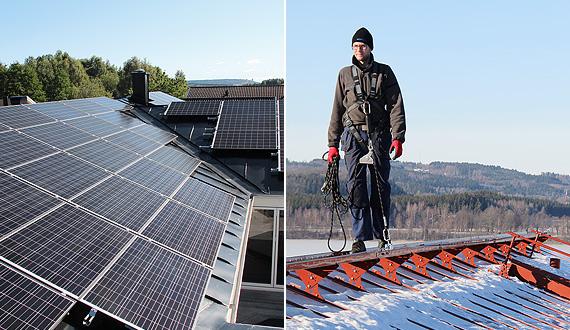 Solarpanel-Halterungen und Dachsicherheitsprodukte